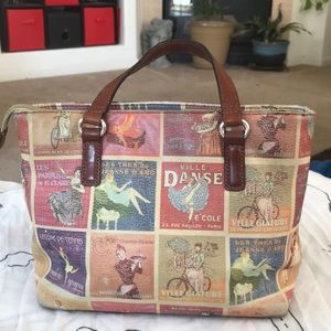 Fossil Bags - Fossil Purse Vintage Style